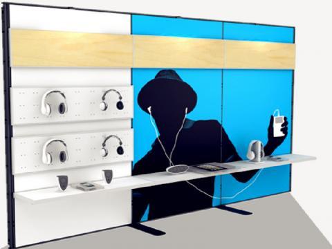 System 50 Präsentationswand von matogo