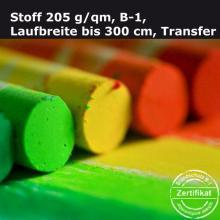 Textildruck auf Standard-Stoff