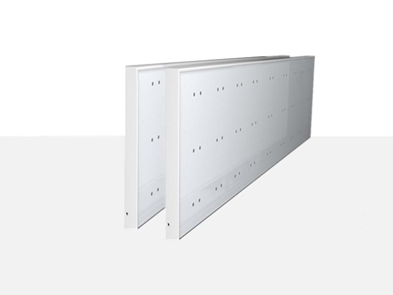 System 50 Displayhalter weiß