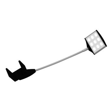 System 50 LED Lampe 18 W gedreht
