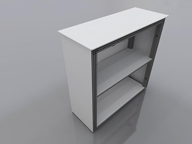 Counter für matogo. System 50 Rückansicht